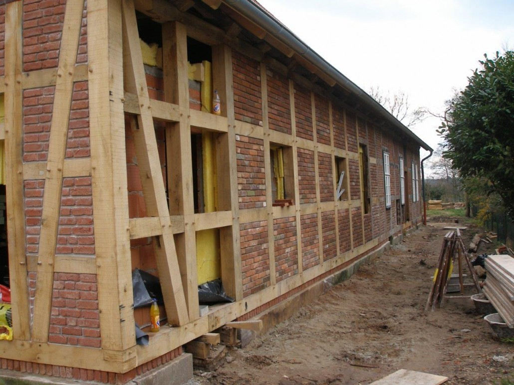 Fachwerk dachdeckerei und zimmerei reiner gliesmann for Holzbalken fachwerk